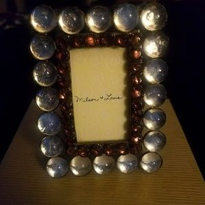 Milson & Louis jeweled picture frame